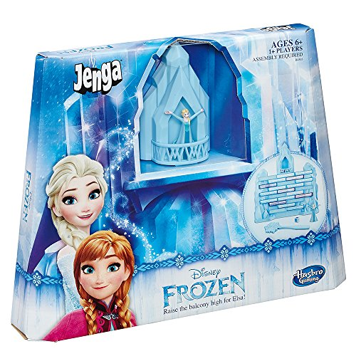 Hasbro gaming- frozen jenga