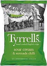 Tyrrells Chips Sour Cream & Serenade Chilli 150 g (1)