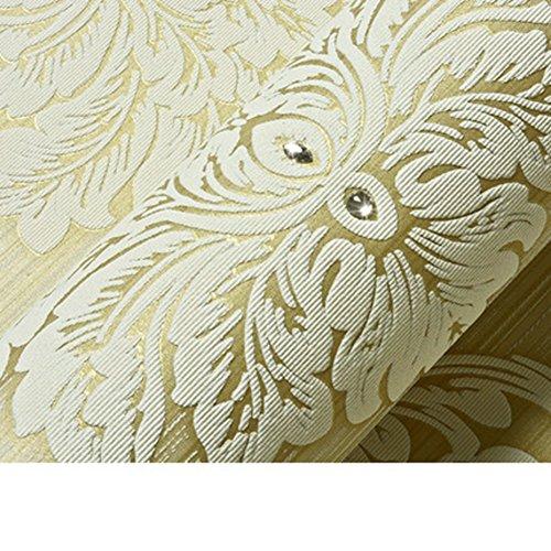 GXX Continentale di tessuto Non tessuto diamante sfondi a Damasco/Stereo3D carta da parati gregge/ carta da parati camera da letto con salotto-F