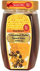 Uttrakhand -100% raw and Organic Natural Honey-250 g (Buy 1 Get 1 Free)