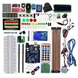 Elenxs EL Kit 008 2560 Mega Proyecto Completo de Ultimate Starter Kit w/Tutorial Compatible para Arduino Nano