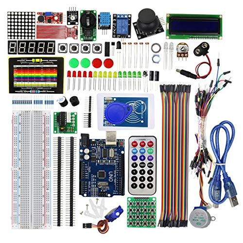 Preisvergleich Produktbild Kineca EL-KIT-008 groß2560 Projekt abgeschlossen ultimative Starter Kit w / Tutorial Kompatibel für Arduino UNO Nano