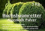 Stauden Gänge 5 kg Algenkalk Pulver im Eimer/Buchsbaumretter/Das Original/mit ANLEITUNG -