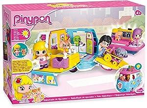 veterinaria mascotas: Pinypon Ambulancia de mascotas, muñeca y accesorios (Famosa 700012751)