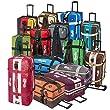 BoGi Bag Reistrolley 110 Liter Reisetasche Trolley Rollkoffer - Blau / Schwarz