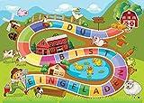 12 Einladungskarten zum Kindergeburtstag Bauernhof-Party / Schatzsuche / Outdoor / Einladungen zum Geburtstag für Mädchen und Jungen