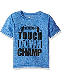 The Children's Place Baby Boys Short Sleeve Graphic Tee, Blue Hole 83917, 5T