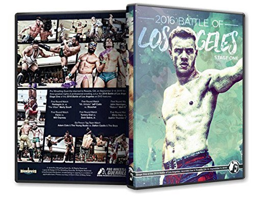Official Pro Wrestling Guerrilla PWG - Battle of Los Angeles BOLA 2016 Stage 1 Event DVD