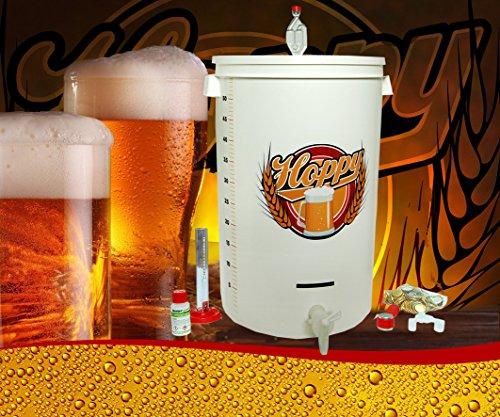 Hoppy kit fermentazione completo birra maxi! con fermentatore ermetico 55 lt! l'unico!