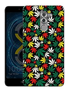 """Humor Gang marijane colorful Printed Designer Mobile Back Cover For """"Huawei Honor 6x"""" (3D, Matte Finish, Premium Quality, Protective Snap On Slim Hard Phone Case, Multi Color)"""