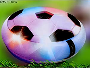 Smart Picks Pro Football Soccer Game with Colourful LED Lights, Multi Color