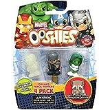 Ooshies Marvel lápiz Toppers paquete de 4 Daredevil, Thor, Hulk Ella y una figura del misterio (Se distribuye desde el Reino Unido)