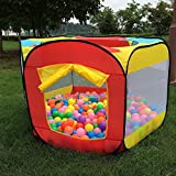 MOHOO Kinder Ball Pit Bällepool Playzelt Indoor Outdoor Wasserdichte Tuch Einfach Folding Hideaway...