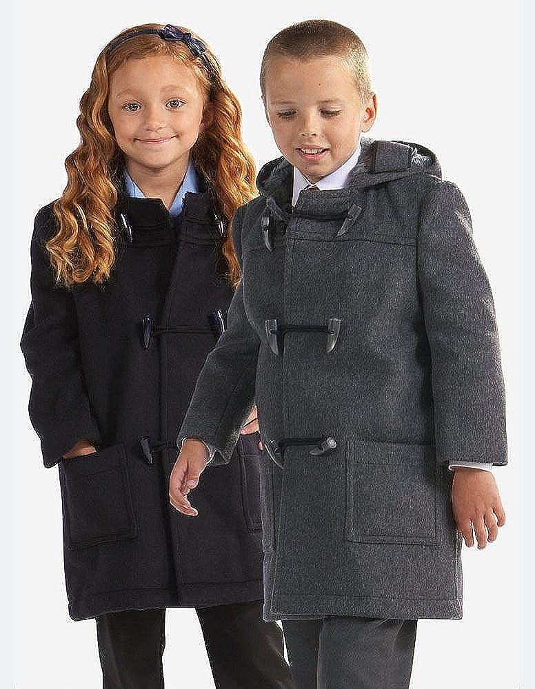 Childs Classic Wool Duffle Coat: Amazon.co.uk: Clothing
