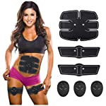 Abs Stimulator for Fat Burner, Waist Trainer, Abdominal Muscle Toner at Home Gym the Office Fitness, Abdominal Toner...