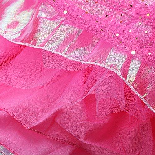 Katara 1742 - Disfraz de Princesa Aurora La Bella Durmiente Vestido Elegante, Niñas