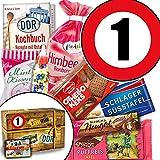 Süssigkeiten Geschenk ++ DDR Geschenk Box ++ Zahl 60 ++ Geburtstag Mama