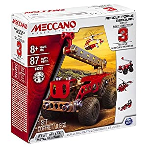 Meccano Rescue Force Model Set (3-Piece)