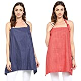#10: Wobbly Walk Nursing Cover - Pack of 2 (Blue/Red)