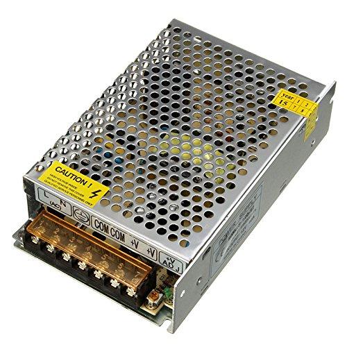 120w Licht Lampe (Netzteil LED Trafo Elektrische 110V-220V to 12V 60W/5A 120W/10A 200W/16.5a AC/DC LED Streifen Licht Lampe 120W 10A)
