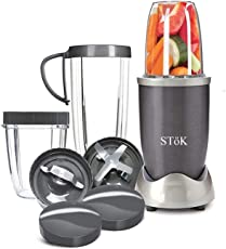 SToK ST-NB01 Nutri Bullet Blender with Powerful Motor- 600 W (BPA Free)