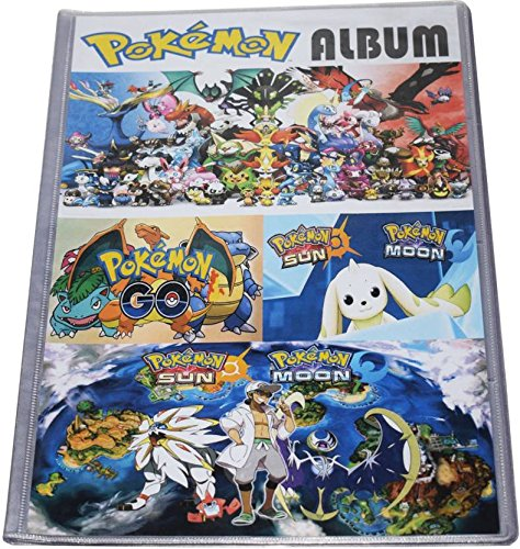 Assemble Pokemon Trading Card Album - 8 Pocket (Total 192 Pocket) (Multicolor)  available at amazon for Rs.429