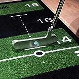 Welling Putt Putting Mat Training Aid-Green, 4M x 50 cm, 4 m