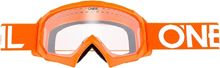O'Neal B-10 Kinder Solid Goggle Kinder Crossbrille Motocross DH Downhill MX Anti-Fog Glas Youth, 6024-11