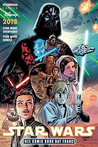 Couverture du livre Free comic book day 2018 - Star Wars