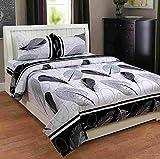 Deco Home Double Bedsheet (100% Cotton, ...