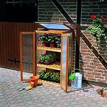 Anzuchtschrank mit 2 Türen für Pflanzen 70x50x120 cm