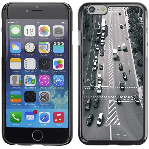 Graphic4You Barcelona Spain Traffic Postkarte Ansichtskarte Design Harte Hülle Case Tasche Schutzhülle für Apple iPhone 6 Plus / 6S Plus Barcelona