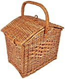 Best Picnic Baskets - A&E Bamboo Picnic Laundry Basket (35x35x35cm, Brown) Review
