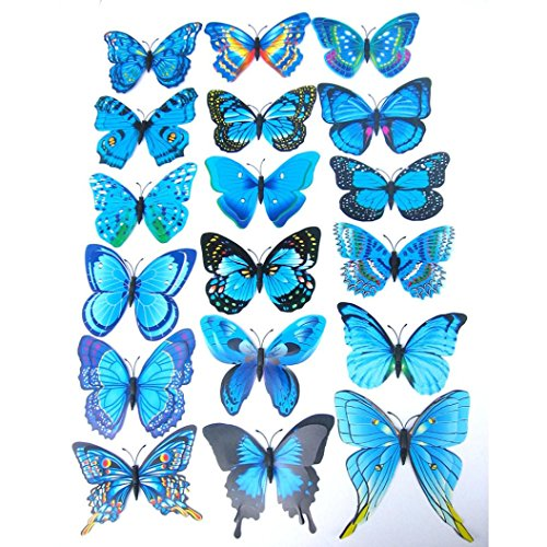 indexp-12x-3d-double-layer-butterfly-wall-sticker-fridge-magnet-room-decor-decal-applique-blue