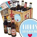 Liebeserklärung | Bier Geschenke | mit Ostdeutschen Bieren