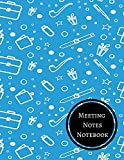 Meeting Notes Notebook: Minutes Log