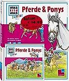 WAS IST WAS Junior Set: Pferde und Ponys Buch & Hörspiel-CD
