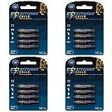 Extremecells wiederaufladbar Micro AAA 1000mAh Akkus HR03 KR03 LR03 R3 L3 1.2V Ni-MH Technologie 1000 Zyklen 4 x 4er Pack