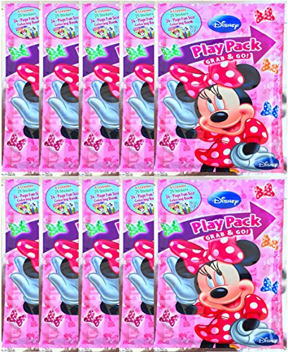 Disney Minnie Mouse Play Pack Grab and Go Coloring Book
