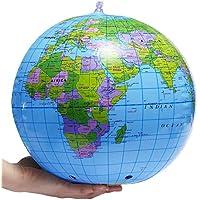Kinder aufblasbarer Globus TOGU Erdball mit Schablonierung Weltkugel
