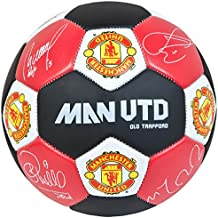 Manchester United Nuskin Football Size 3 Stitched Panels Sports Equipment