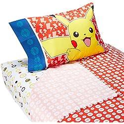 Pokemon Pika Pikachu doble juego de sábanas