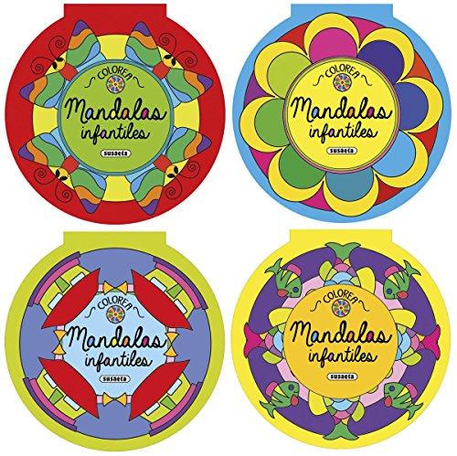 Colorea mandalas infantiles (4 títulos) - 9788467747911