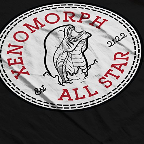 Xenomorph Alien All Star Converse Logo Men's Vest Black