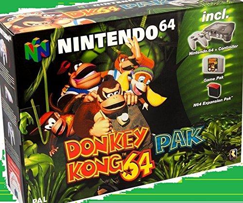 Nintendo 64 Donkey Kong Pak gebraucht kaufen  Wird an jeden Ort in Deutschland