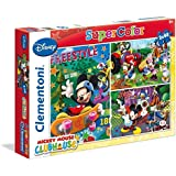 Clementoni 62412.6 - Puzzle infantil, diseño de Mickey Mouse
