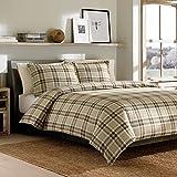 Duvet cover is 100% cotton;Set includes duvet cover + 2 shams;Machine washable;1 F/Q Duvet 88x88, 2 Std. Sham 20x26