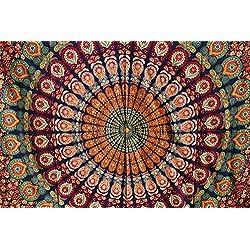 tapiz de pared de mandalas hecho a mano