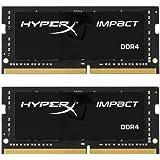 HyperX Impact HX424S14IBK2/32 Memoria 32 GB Kit (2 x 16 GB) 2400MHz DDR4 CL14 SODIMM