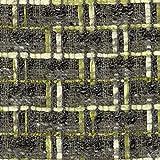 Linton Tweed-Stoff, Meterware Y6405, Grau/Grün